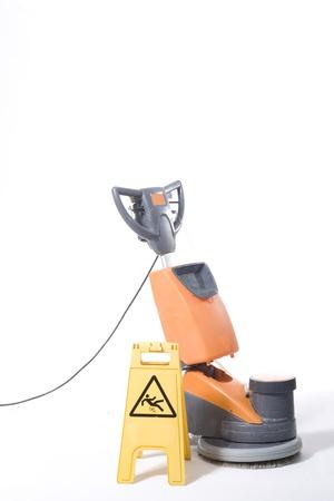 polisher: cleaning machine Stock Photo