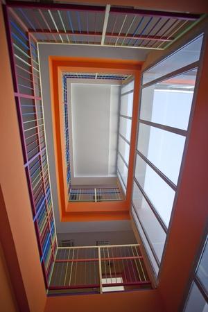 highriser:  Super modern skyscraper building interior