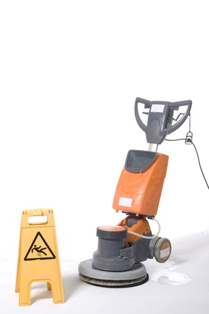 floor machine: m�quina de la limpieza