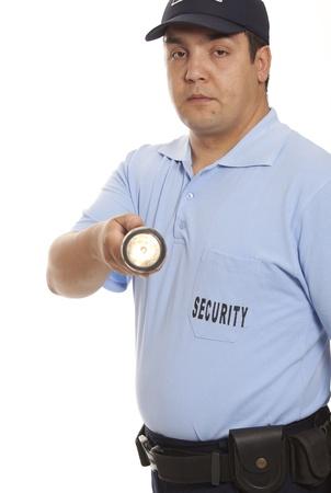 garde corps: veilleur de nuit