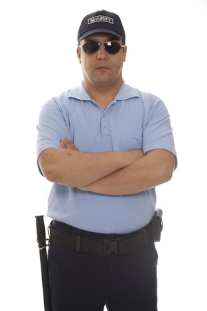 detail of a security staff member Stock Photo - 13405076