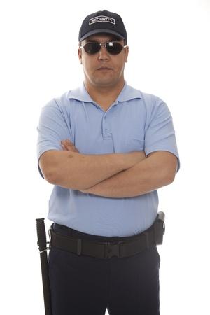 guarda de seguridad: detalle de un miembro del personal de seguridad