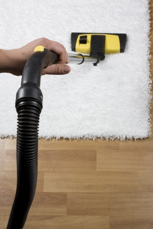 vac: carpet cleaning Stock Photo