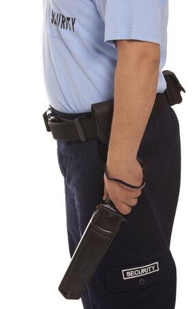vigilante: detail of a security guard
