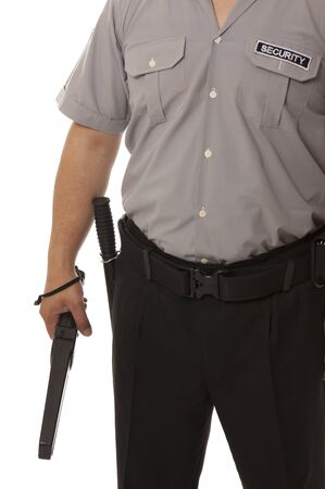 detail of a security guard Stock Photo - 13833326