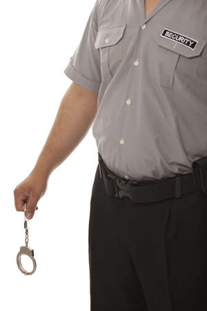 detail of a security guard Stock Photo - 13833297