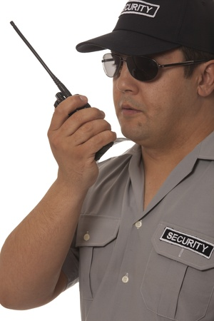 detail of a security guard Stock Photo - 13833331