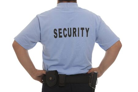 detail of a security staff member photo