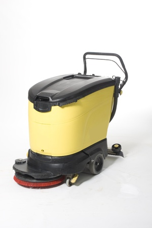 clean commercial: cleaning machine Stock Photo