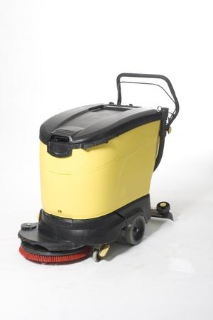cleaning machine Stock Photo