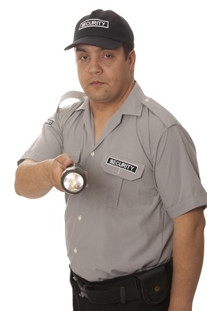 detail of a security staff member Stock Photo - 14718571