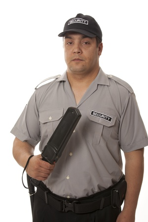 detail of a security staff member Stock Photo - 14718578
