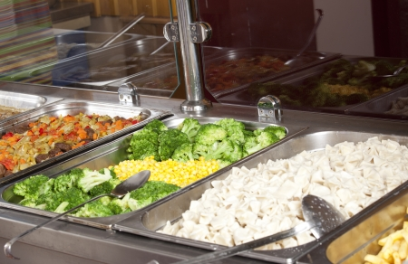 canteen:  full lunch service station