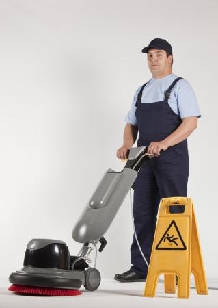 cleaning machine  Standard-Bild
