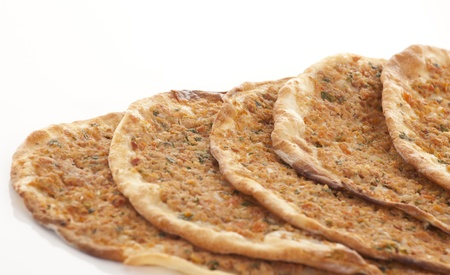 Estilo turco Picado lahmacun photo