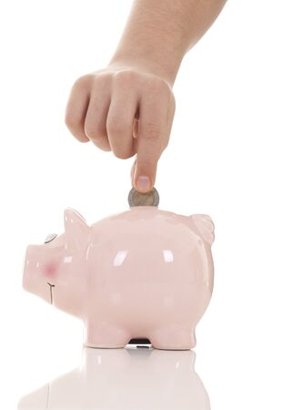 cuenta bancaria: Ahorros - Hucha y de la mano con la moneda