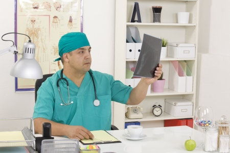 Medical doctor in the office photo