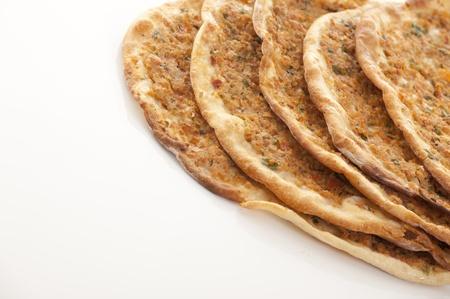 Turkish style Minced lahmacun
