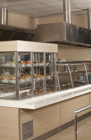 dinning room: Dinning room of new business center Stock Photo