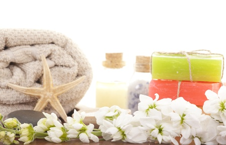 handmade soap: Handmade Soap closeup.Spa products