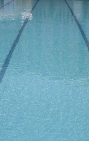 floater: empty swimming pool
