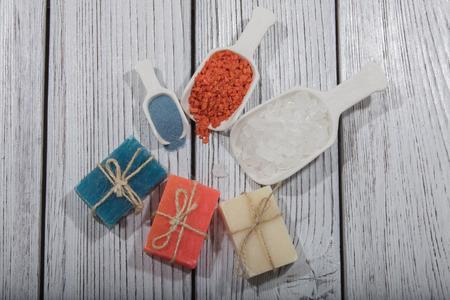 perfumed: colorful natural herbal soaps