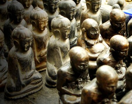 fidelidad: Imagen de Buda  Foto de archivo