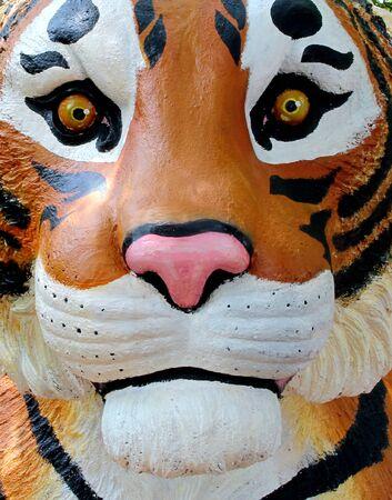 ravishing: Tigers face sculpture designs