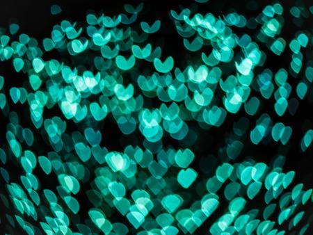 Resumen corazones del bokeh de fondo claro día de San Valentín.