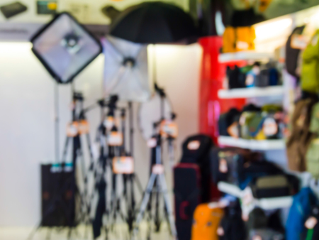 photo studio: photo studio equipment shop.