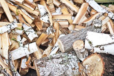 christmas budget: birch firewood