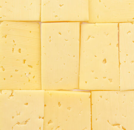 provocative food: close up of cheese slices