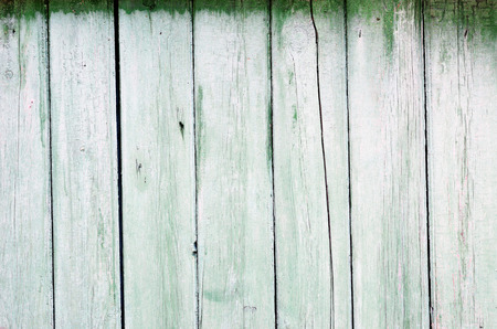 forefront: green wooden texture