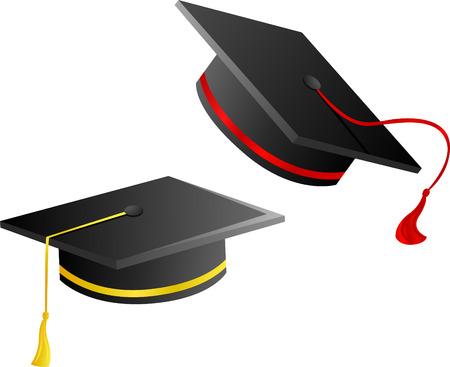 gorro de graduacion: gorro de graduaci�n 2  Vectores