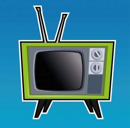 old tv: Retro TV