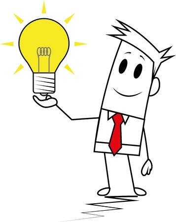 eureka: Square guy-Idea