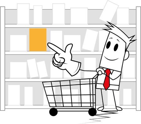 Square guy-shopping