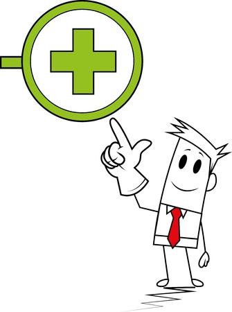 Square guy-Hospital icon