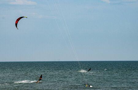 briny: Kaytserfingistov Group on the high seas