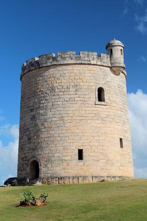 An old spanish fortification in Varedaro, Cuba.