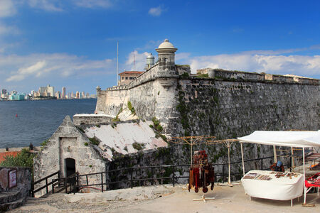 El Morro fortress with the city of Havana