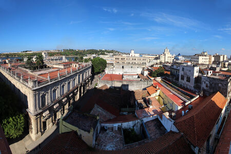 ernest: Panoramic shot from the roof of the hotel in Old Havana