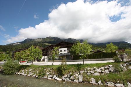 saalfelden: Summer in Leogang, Austrian Alps with beautiful weather