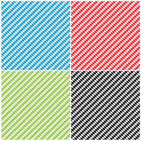 diamond texture: Bavarian Diamond Pattern Texture Background Set in Different Color - Rhombus in Blue, Red, Green and Black Stock Photo