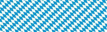 website backgrounds: Bavarian Diamond Pattern Texture Panorama for Backgrounds, Banner and Website Heads - Rhombus in Blue and White