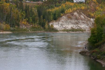 Saskatchewan River Фото со стока