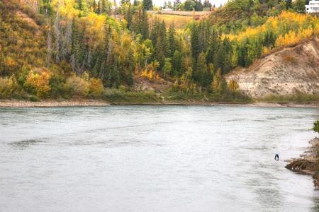 Saskatchewan River Фото со стока - 51171164