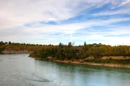 saskatchewan: Saskatchewan River Stock Photo