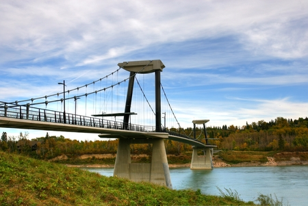 Saskatchewan River Footbridge