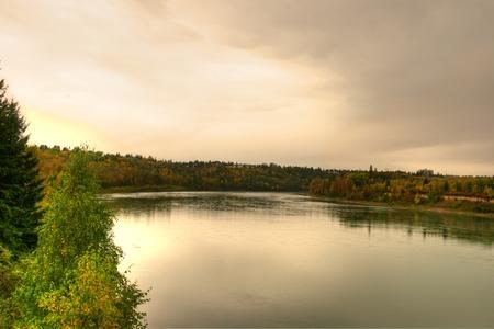 Saskatchewan River Banco de Imagens